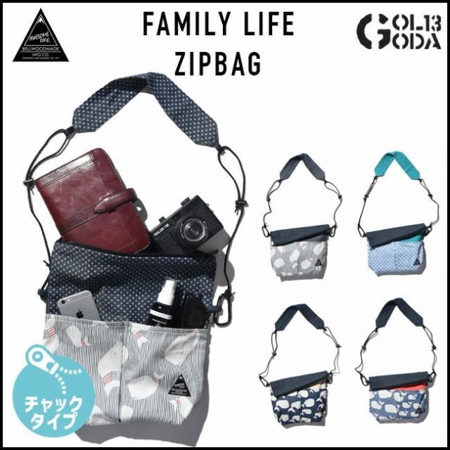 送料無料 BELLWOOD サコッシュ FAMILY LIFE ZIPBA...