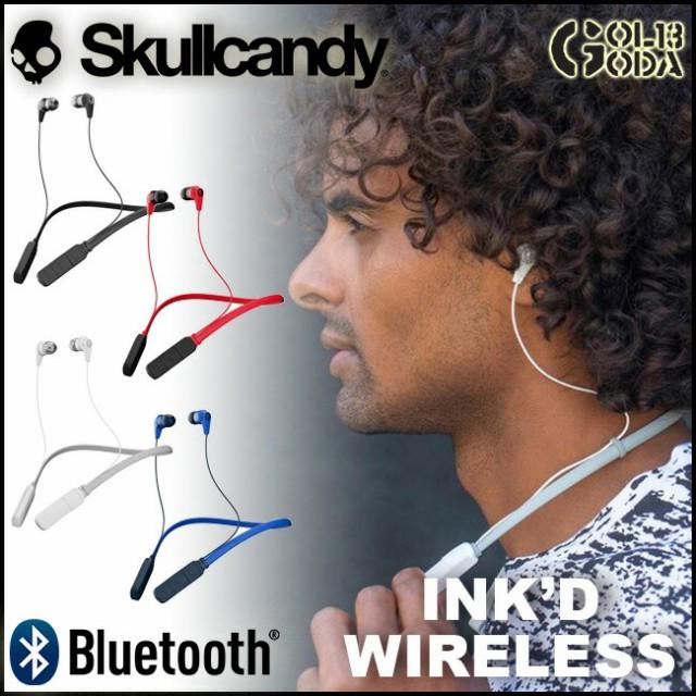 SKULLCANDY INK'D Wireless ワイヤレスイヤホン ...