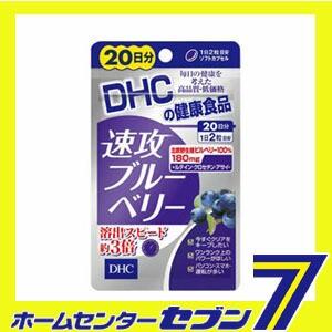 【送料無料】 DHC 速攻ブルーベリー 20日分 40粒 ...