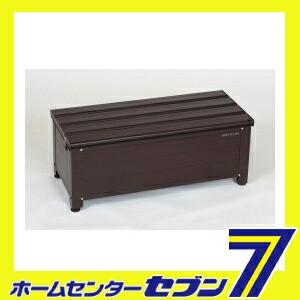 【送料無料】 アルミ踏み台ストッカー 84 (南京錠...