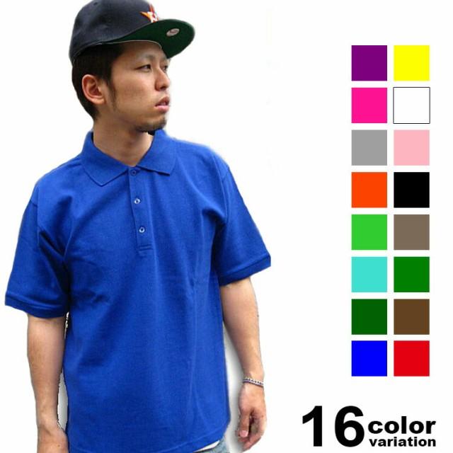 DOUBLE(ダブル)半袖コットンポロシャツ(17色)【B...