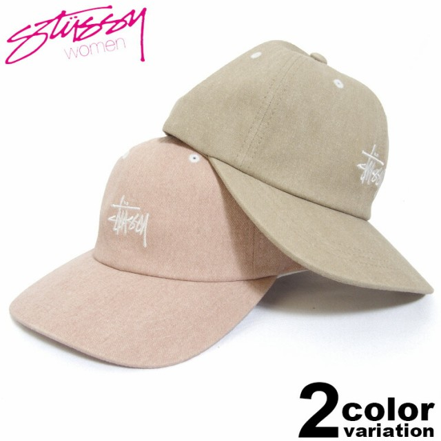 STUSSY WOMEN ステューシー キャップ Washed Stoc...