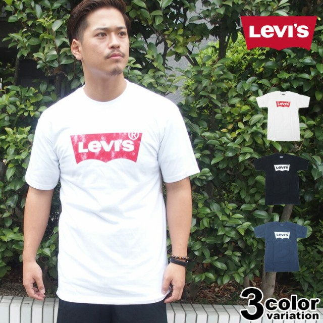 LEVI'S リーバイス Tシャツ 半袖 ロゴT バットウ...