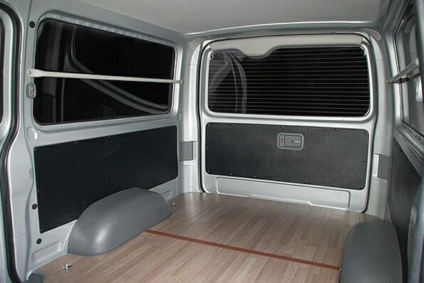 ハイエース200系DX用レザー調内装張り替えシート ...