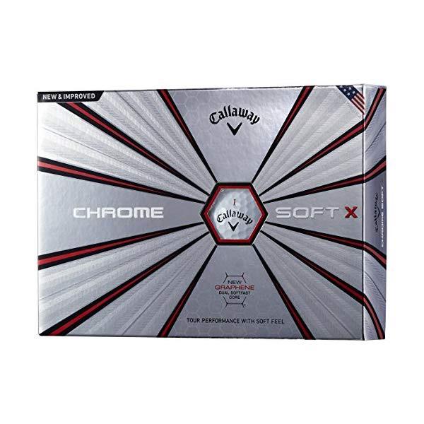【ゴルフボール】クロムソフト X CHROME SOFT X 1...