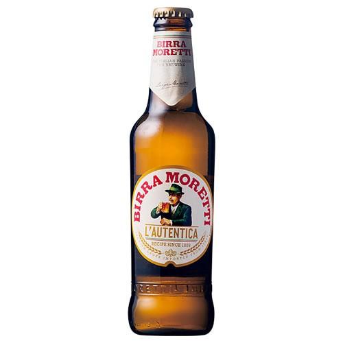 【イタリアビール】モレッティ ビール 330ml 瓶 2...