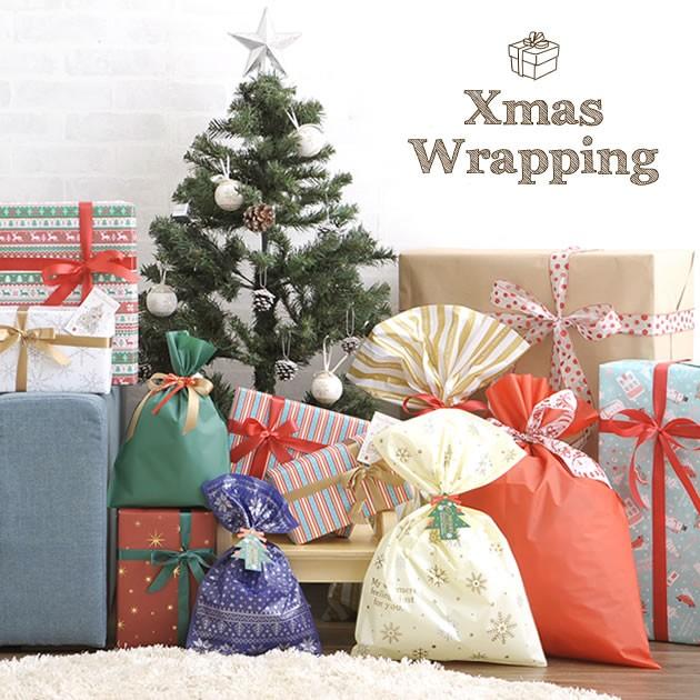 クリスマスラッピング(X'masカード付) wrappi...