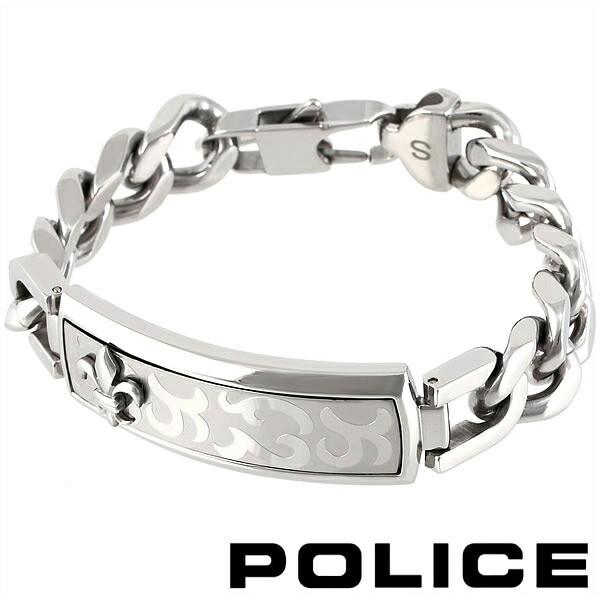 ポリス ブレスレット ブラック メンズ POLICE EMP...