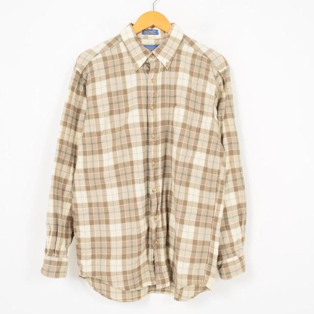 ペンドルトン PENDLETON チェック柄 ウールシャツ...