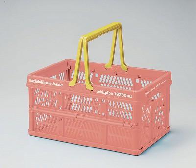 【サーモンピンク】ピクニックル 折りたたみコン...