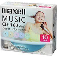 送料無料!日立マクセル 音楽用CD-R インクジェッ...