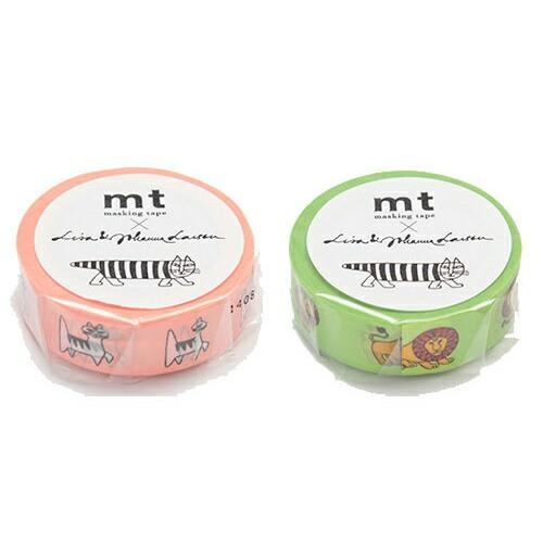 mt × リサ ラーソン 15mm マスキングテープ リサ...