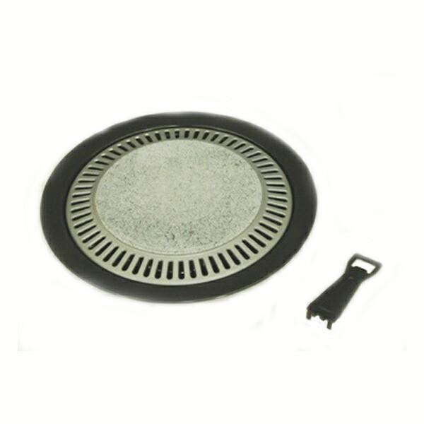 焼肉グリル ストーン丸型焼肉グリル33cm 石焼グリ...