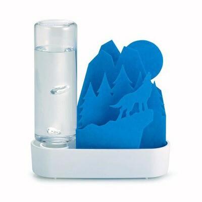 エコ加湿器 ペーパー自然気化式 ECO 紙 ちいさな...