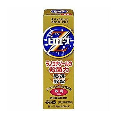 【第(2)類医薬品】 ピロエースZ軟膏 15g