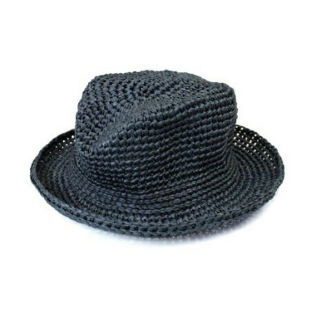 春夏糸 パピー リーフィーで編むかぎ針編み帽子...
