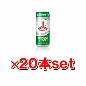 アサヒ 三ツ矢サイダー 250ml缶x20本