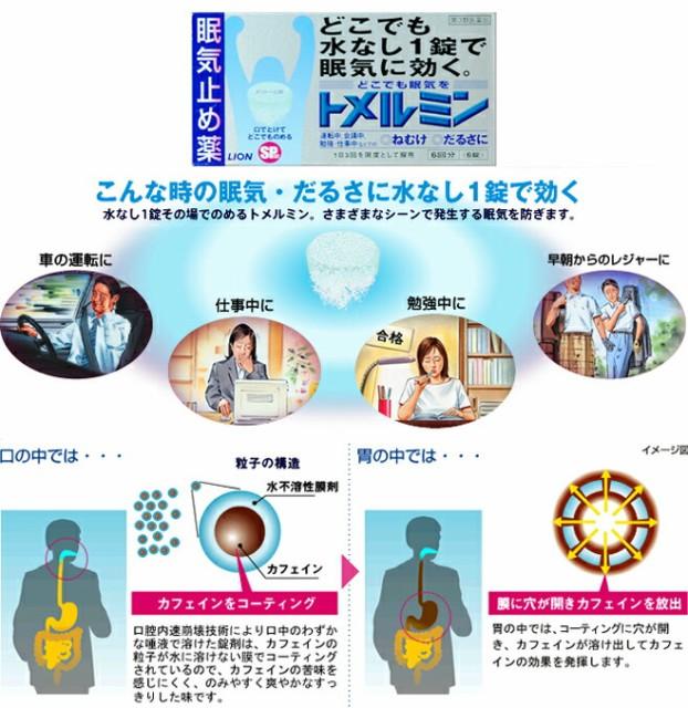 トメルミン 12錠 〈眠気止め薬〉〈第3類医薬品〉 ...