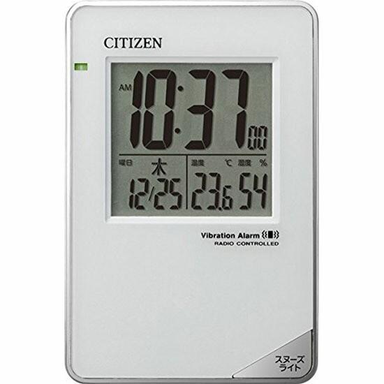 リズム時計工業 CITIZEN シチズン 電波目覚まし時...