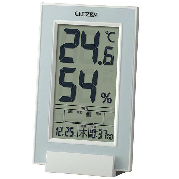 リズム時計工業 CITIZEN シチズン 高精度温湿度計...