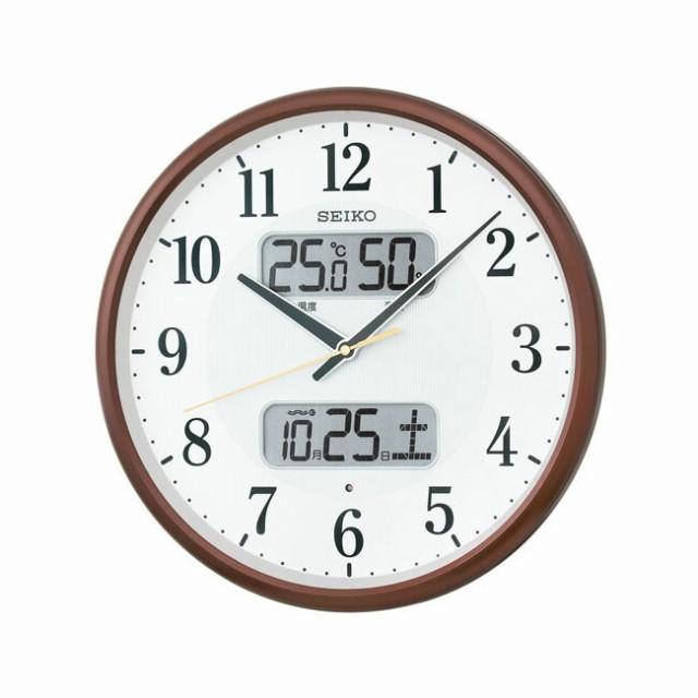 SEIKO セイコー クロック KX383B 電波壁掛け時計 ...