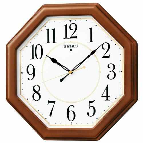 SEIKO セイコー クロック KX389B 電波壁掛け時計 ...