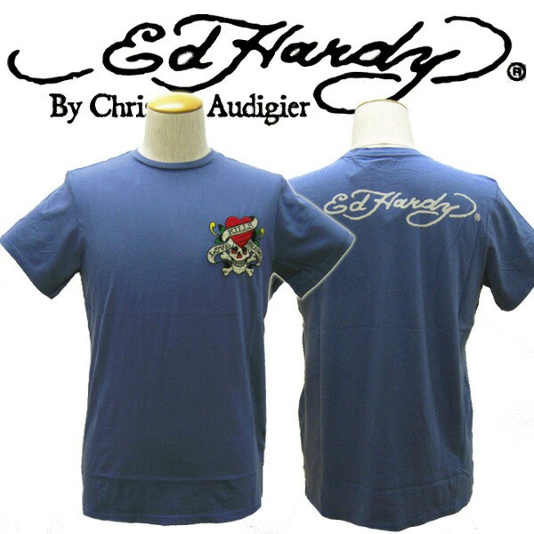 ED HARDY エドハーディー メンズTシャツ CORE BAS...