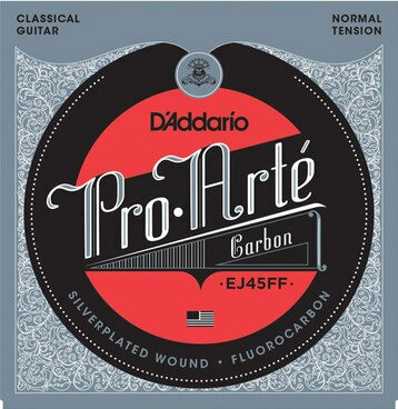 D'Addario EJ-45FF Pro Arte Carbon Normal クラ...