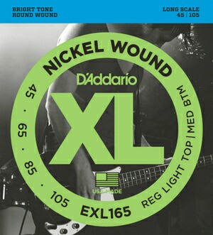 D'addario EXL165 Long ダダリオ ベース弦【送料...