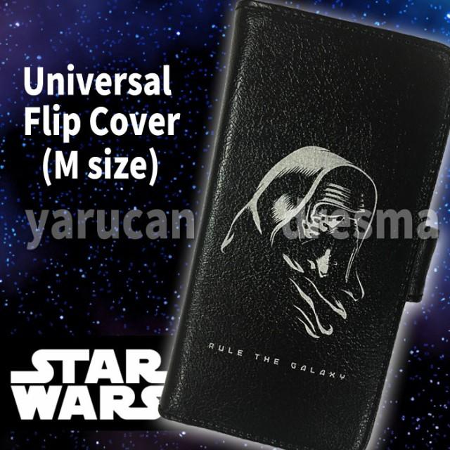 汎用型 手帳型ケース STAR WARS ユニバーサルフリ...
