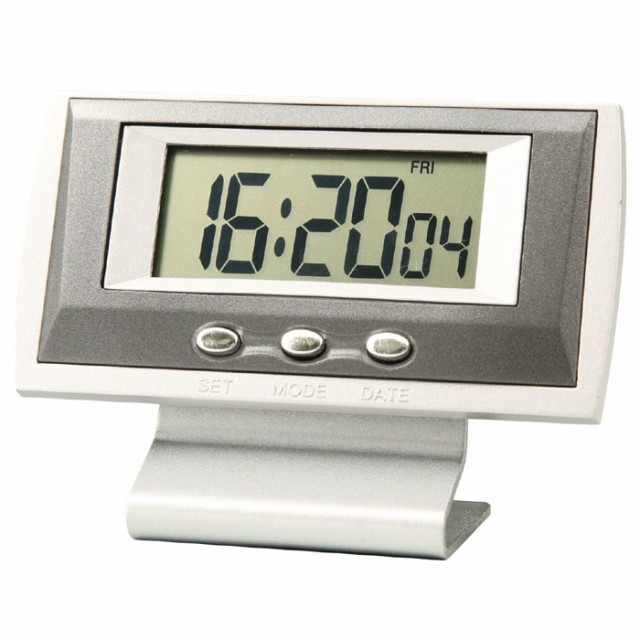 コンパクトクロック 置時計 時計 ストップウォッ...