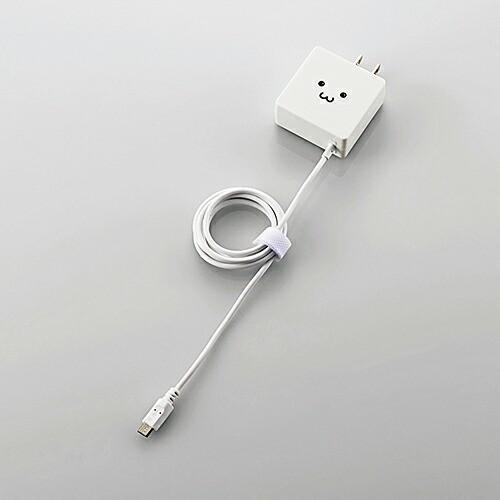 スマートフォン・タブレット用AC充電器 ケーブル...
