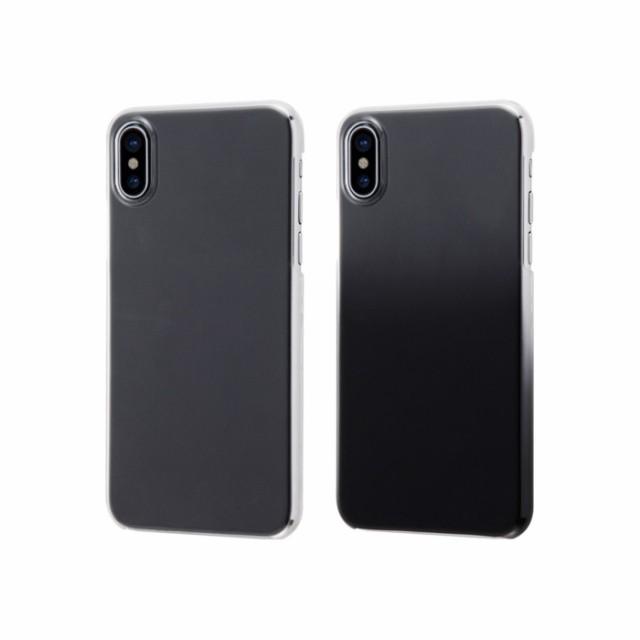 iPhoneX ケース カバー ハードケース 極薄 レイア...