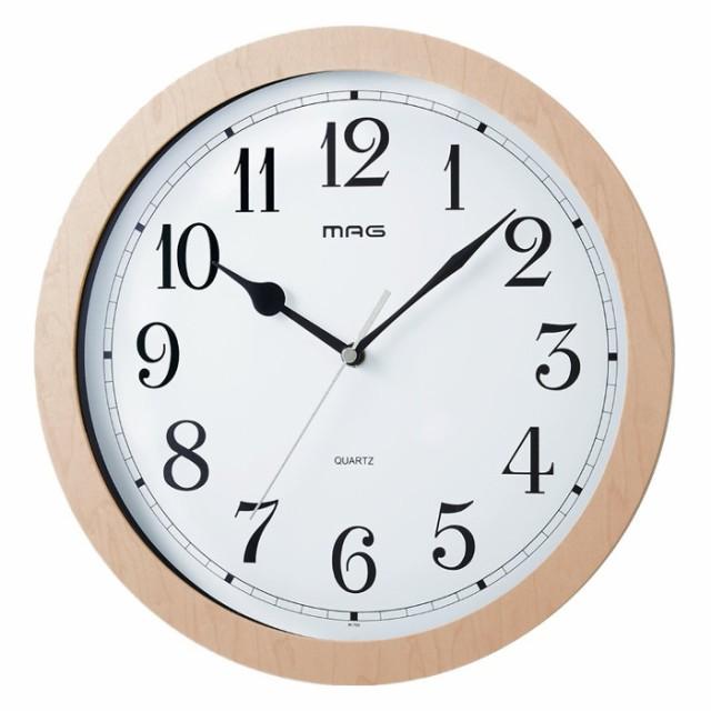 電波時計 掛け時計 ベルナウッド ノア精密 W-702 ...