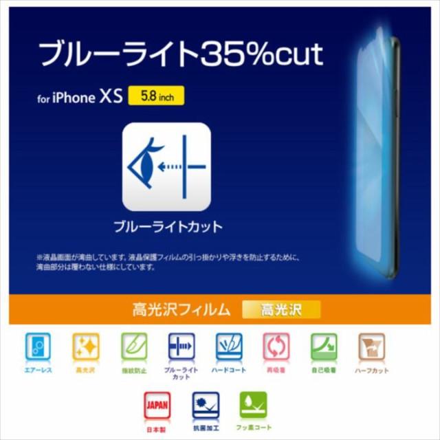 iPhone XS アイフォン テンエス 5.8インチ 液晶保...