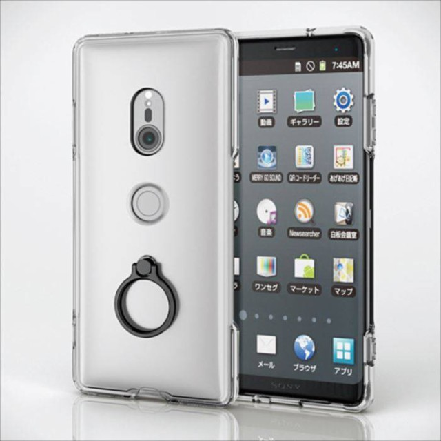 Xperia XZ3 SO-01L SOV39 SoftBank ハイブリッド...