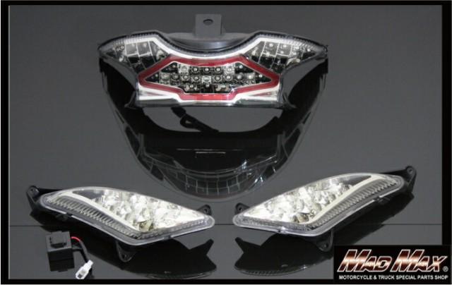 アドレスV125S LEDテールランプ フロント用ウイン...