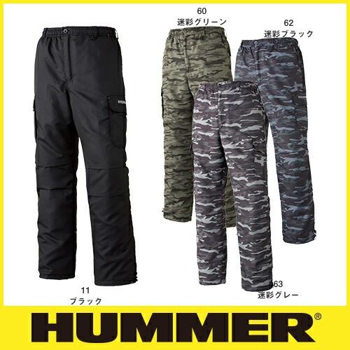 HUMMER 1141-25 裏フリースカーゴパンツ メンズ ...