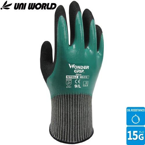 全面コーティング手袋 ユニワールド ワンダーグリ...