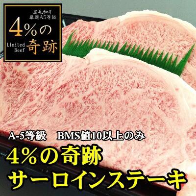 【商番2301】黒毛和牛厳選A5等級「4%の奇跡」サ...