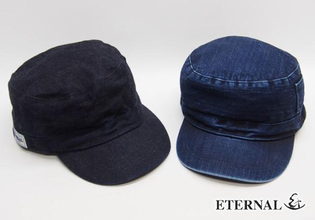 ETERNAL[エターナル] デニム ワークキャップ/CAP/...