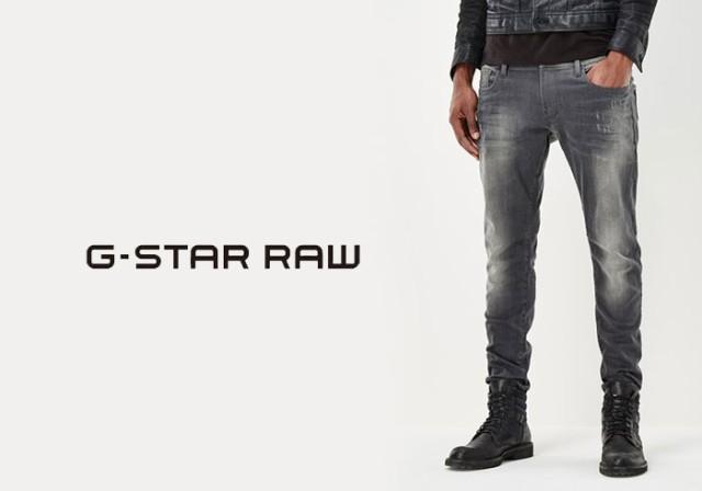 ジースター ロウ G-STAR RAW Revend グレイ スー...