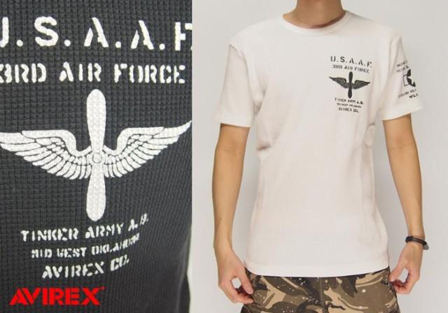 AVIREX[アヴィレックス] 半袖 USAAF クルーネック...