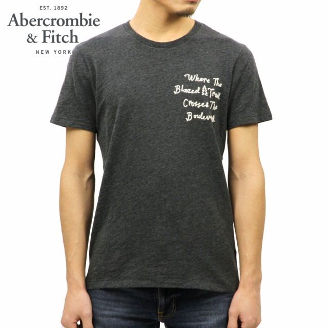 アバクロ Abercrombie&Fitch 正規品 メンズ 半袖...