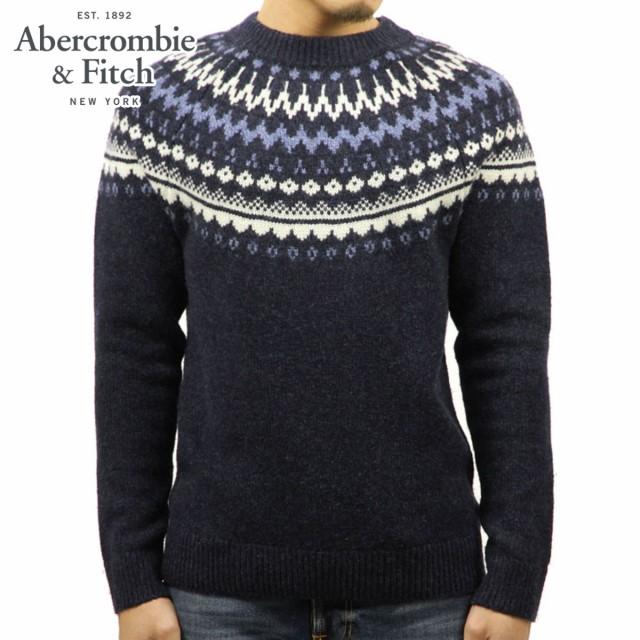 アバクロ Abercrombie&Fitch 正規品 メンズ クル...