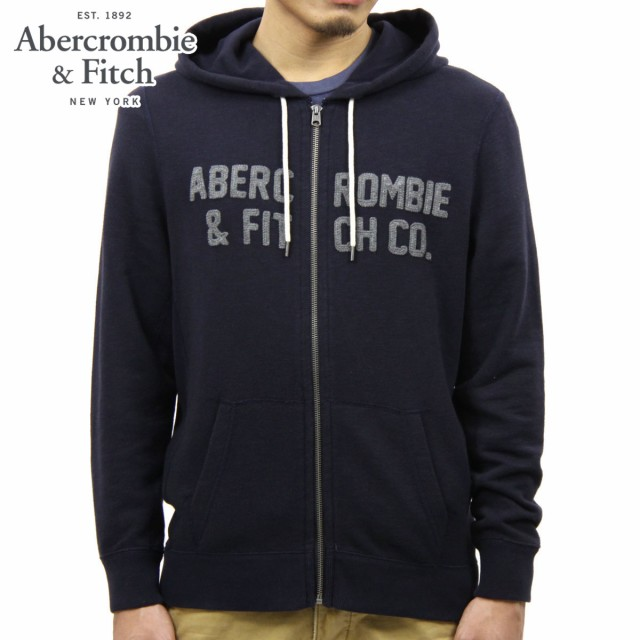 アバクロ Abercrombie&Fitch 正規品 メンズ ジッ...
