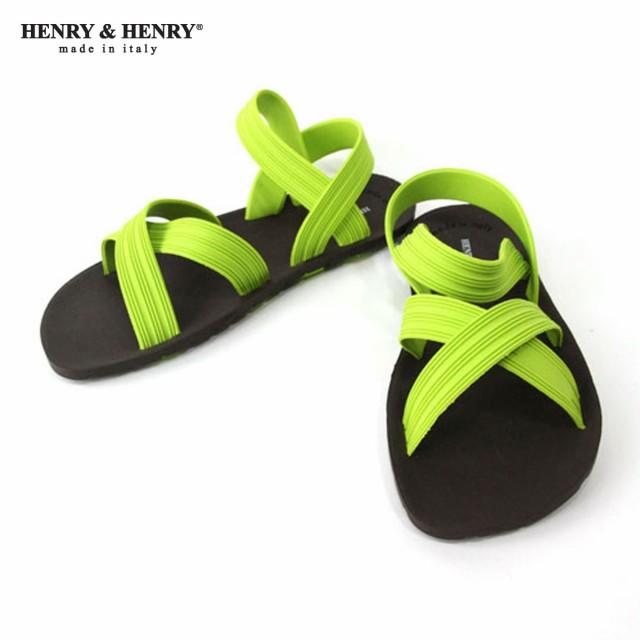 ヘンリーアンドヘンリー HENRY&HENRY サンダル S...