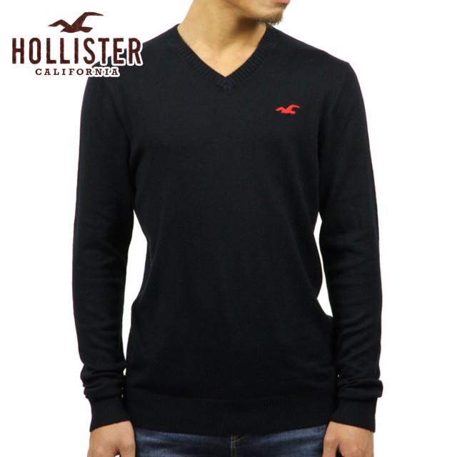 ホリスター HOLLISTER 正規品 メンズ セーター V-...