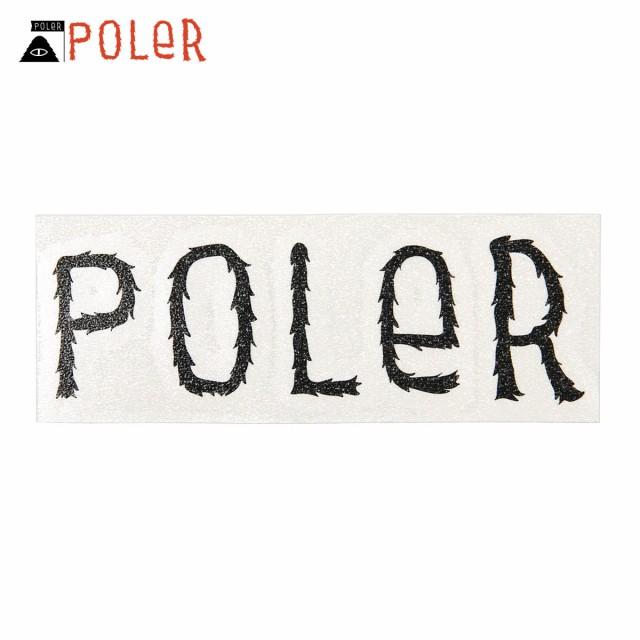 ポーラー POLER 正規販売店 ステッカー POLER DIE...