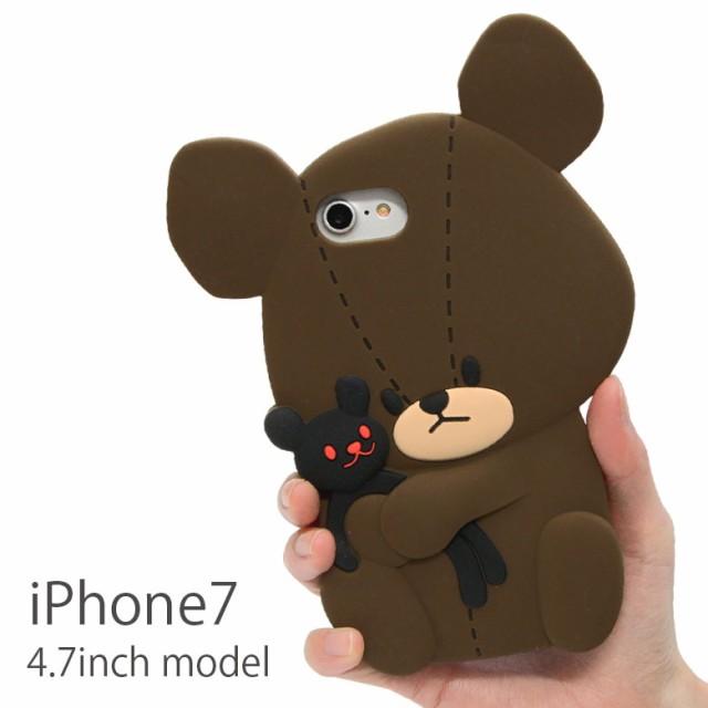 くまのがっこう iPhone7 4.7インチモデル対応 ダ...